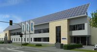 Neubau mit Null-Energie-Technologie