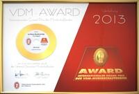 VDM-Award 2013 - Selbstständig in der Musikbranche