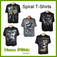 Spiral T-Shirts neu im Online-Shop der Firma Hans Pöhls GmbH