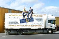 Branchenriese wird aus der Taufe gehoben. Gebrauchte Büromöbel werden bald europaweit exportiert.