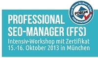 """Neuer Intensiv-Workshop zur Suchmaschinenoptimierung: """"Professional SEO-Manager (FFS)"""""""