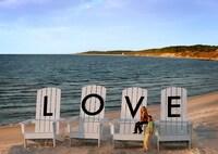 Gigantische LOVE-Kunstwerke in Virginia