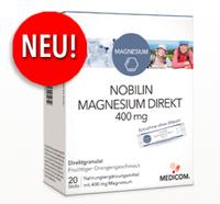 MEDICOM stellt das neue NOBILIN MAGNESIUM DIREKT 400 mg vor!