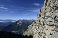 Sicher über den Mittenwalder Klettersteig