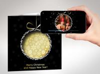Innovative Augmented Reality Weihnachtsgrußkarten mit Video
