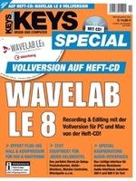 KEYS Sonderheft mit Steinberg WaveLab LE 8 Vollversion