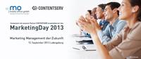 MarketingDay 2013: Marketing Management der Zukunft