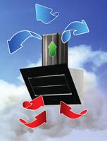plasmaNorm® Dunstabzugshauben befreien die Luft von Kochgerüchen, Lösungsmitteln und Tabakrauch