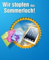 Großes Gewinnspiel: Mit iPad, iTunes Geschenkkarten und weiteren tollen Preisen das Sommerloch stopfen