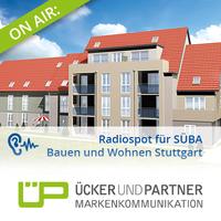 On air: Radiospot für SÜBA Bauen und Wohnen Stuttgart