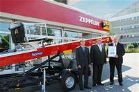 Zeppelin Rental führt 15 Anhänger-Schrägaufzüge zu