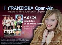 Erstes Franziska Open Air am 24.08.2013 in Mücheln