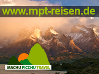 Patagonien Gruppenreise: Reiseveranstalter Machu Picchu Travel erweitert sein Südamerika-Reise-Programm