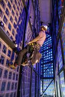 Berliner Gedächtnis-Kirche strahlt im neuen Licht