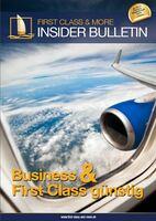 Business und First Class Flüge mit 70 Prozent Rabatt