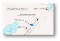 Bohrprogramm gestartet auf Bachman Lake Uranprojekt, Athabasca SK