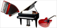 Top Ten der beliebtesten Musikinstrumente - Marktplatz veröffentlicht Beliebtheitsranking - Klavier und Gitarre an der Spitze - Akkordeon an dritter Stelle
