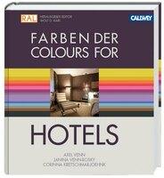 Farben der Luxushotels: Gold, Schwarz, Viola, Pink und Rosa