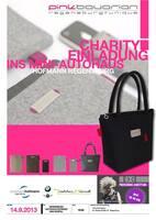 Das Designer-Taschenlabel pinkbavarian organisiert Charity-Veranstaltung in Regensburg
