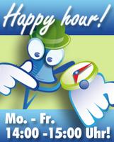 Tägliche Happy Hour für Branchen und Berufsgruppen