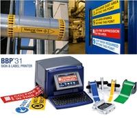 Etiketten- und Schilderdrucker BBP31 für visuelle Arbeits- und Sicherheitsprozesse