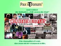 Pax et Bonum unterstützt die Initiative WIR gegen die Flut