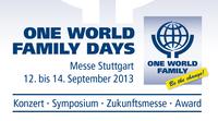 Salux Netzwerk Aussteller auf den ONE WORLD FAMILY DAYS