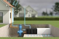 Mit Regenwasserversickerung Abwassergebühren sparen