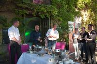 Box-Champion Arthur Abraham als Gast bei der Apontas MEET&EAT-Lounge in Kassel