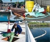 Ölverschmutzungen auf Wasseroberflächen beseitigen