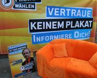 72-Stunden-Wahlkampfendspurt der PIRATEN in Gießen