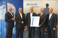 ATLANTIC Hotels als eine der ersten Hotelgruppen in Deutschland nach der Qualitätsnorm ISO 9001 zertifiziert
