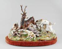 Größte Frankenthal Porzellanfigur des 18. Jahrhunderts aufgetaucht.