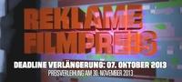 Neue Location und Verlängerung für Reklamefilmpreis 2013