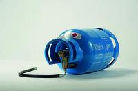 Treibgas: Clip-On-Anschluss beschleunigt den Flaschenwechsel