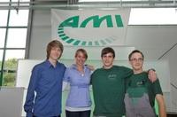 AMI schafft Ausbildungsplätze für die Mitarbeiter von morgen und fördert Nachwuchskräfte