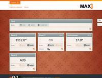 Alles sofort im Blick: eQ-3 präsentiert neue MAX!-Bedienoberfläche