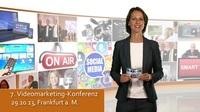 Videomarketing-Konferenz informiert im Oktober: Content-Strategien für Ihren Smart-TV-Sender