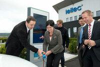 Erste Schnellladestation für Elektroautos im Landkreis Eichsfeld offiziell in Betrieb genommen