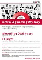 Faszination Technik: inform Engineering Day zum ersten Mal in Bingen