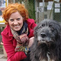 Claudia Ludwig zu Gast im Tierheim Bocholt