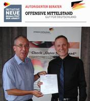 Thomas Issler ist zertifizierter Berater und Dozent der Offensive Mittelstand