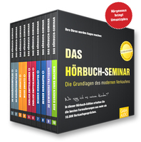 Neues Hörbuch-Seminar als 10-teilige Edition für Verkäufer