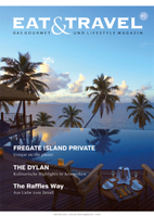 EAT & TRAVEL - Das Gourmet und Lifestyle Magazin startet durch