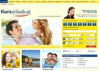 Kurzurlaub.at - neues Hotelbuchungsportal für Urlaub in Österreich