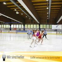 LED Beleuchtung für Eissporthallen