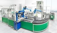 FachPack 2013: AMI zeigte Innovationsmodell mit Roboter- und Fördertechnik im Live-Einsatz