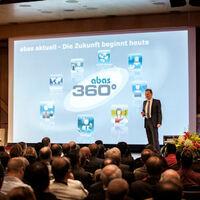 Kunden-Event abas 360°: Fusion und neue Web-Oberfläche