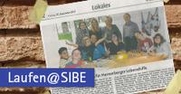 SIBE Alumni läuft für die Lebenshilfe Herrenberg e.V.