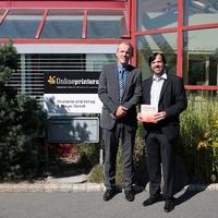 """Onlineprinters mit """"AGFA Valued Customer Award 2013"""" ausgezeichnet"""